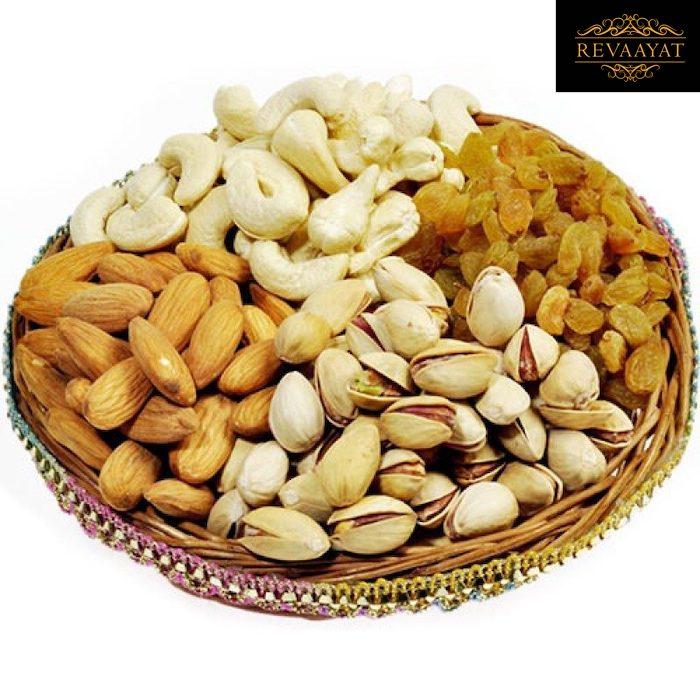 Mixed Dry Fruits to Karachi - Revaayat Gifts