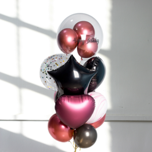 balloon bouquets for birthdays