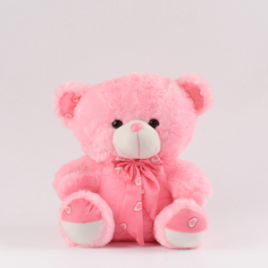 soft pink stuffed teddy bear for birthday gifts for her