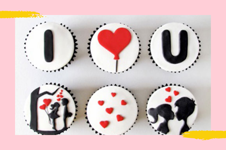 bespoke cupcakes for her