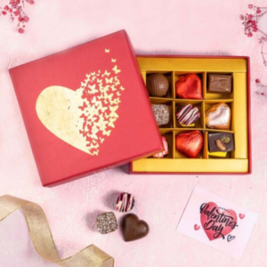 designer chocolates for the valentines day gifts delivery in Karachi