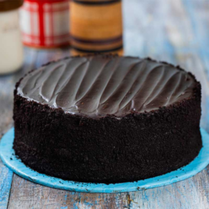 sugar free fudge cake for Eid gifts to parents and family