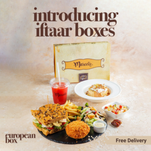Ramadan gifts for iftar time with delicious food